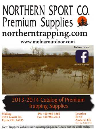 Northern Sport Co. Trapping Catalog 2013-2014 #TRAPCAT