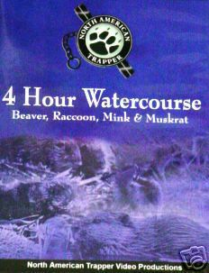 North American Trapper 4 Hour Watercoures DVD 32401