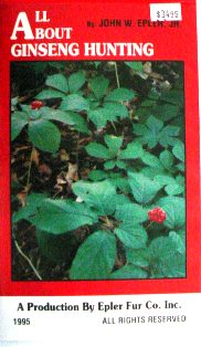 All About Ginseng Hunting DVD by John Epler Jr. Vid02
