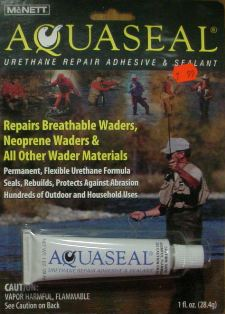 Aquaseal for Wader Repair #aquaseal