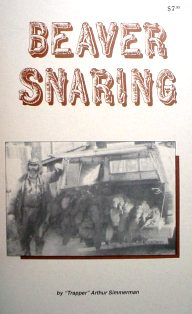 Beaver Snaring Book By Trapper Art asbook