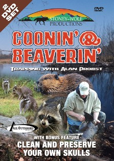 Coonin & Beaverin Trapping with Alan Probst DVD #Coonbeaver
