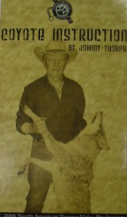 Coyote Instruction DVD by Johnny Thorpe #jthorpevd06