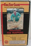 Fur Fish Game Professional Fox Trapping DVD #PFT