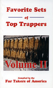 Favorite Sets of Top Trappers Vol. 2 by Fur Takers of America #Favoritesets2