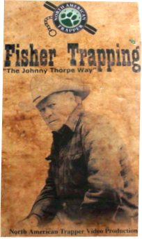 Fisher Trapping by Johnny Thorpe Way DVD #Fisher Trapping by JW