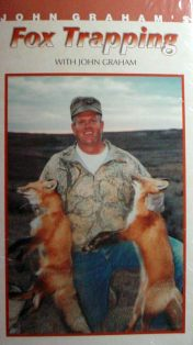 FOX TRAPPING with John Graham  DVD FTby JG