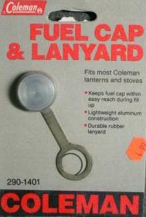 Coleman Fuel Cap and Lanyard  290-1401