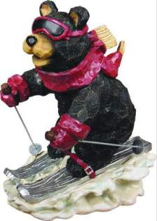 SKIING BEAR  gd985