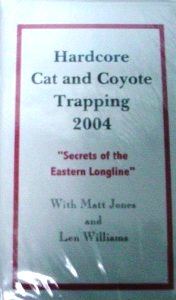Hardcore Cat and Coyote Trapping DVD #HC and CT 2004