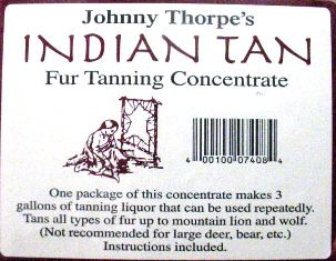 Johnny Thorpe's Indian Tan idiantan