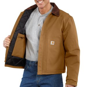 Carhartt Men's Duck Traditional Jacket/Arctic-Quilt Lined J002
