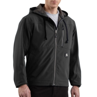 Carhartt Men's Soft Shell Hooded Jacket J251
