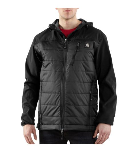 Carhartt Men's Soft Shell Hybrid Jacket J294