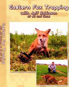 Eastern Fox Trapping with Jeff Robinson DVD jrdvd