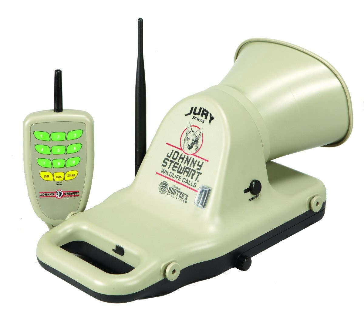 Johnny Stewart JS1 Jury Electronic Game with 25 Calls and Remote Control  #JS1