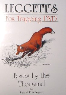 Foxes by the Thousand DVD by Pete and Ron Leggett leggettdvd01