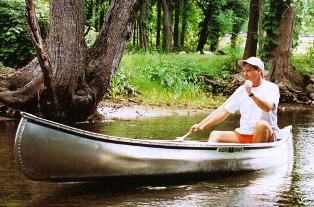 Michi-Craft T-15 Aluminum Canoe T15