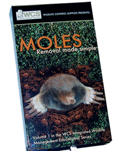 MOLES - Removal made simple DVD  by WCS nomolvid