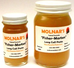 Molnar's Fisher-Marten paste lure #molfisher