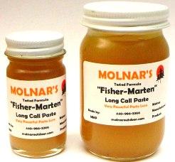 Molnar's Fisher-Marten paste lure molfisher