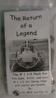 Pinch Pan 1 1/2 coil #112PP