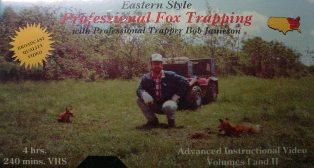 Eastern Style Professional Fox Trapping DVD by Bob Jameson jamesonvideo
