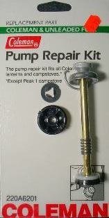 Coleman and Unleaded Fuel Pump Repair Kits 220A6201