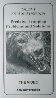 Predator Trapping Problems and Solutions DVD by Slim Pedersen slimvideo2