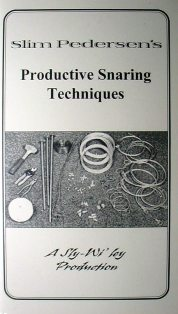 Productive Snaring Techniques DVD by Slim Pedersen #slimvideo0413