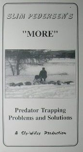 -MORE- Predator Trapping Problem and Solutions DVD by Slim Pederden slimvideo3