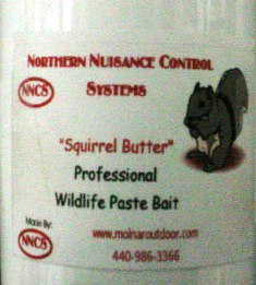 Squirrel Butter Paste Bait nncs02