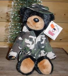 Stuffed Camo Bear af11a