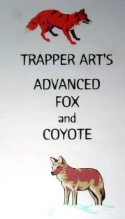 Trapper Art's Advance Fox and Coyote DVD #tav03