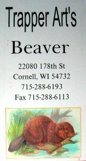 Trapper Art's Beaver DVD tav02