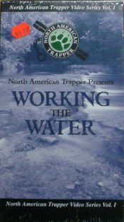 Working with Water by North American Trapper DVD WwW by nat