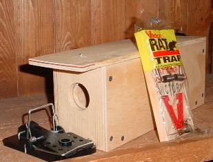 Weasel and Rodent Trap Catch Box wrtrap