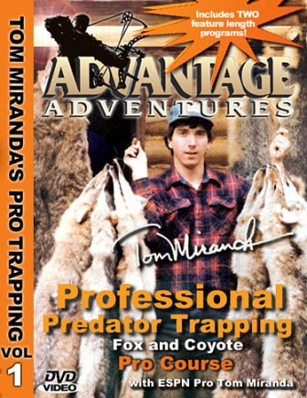 Tom Miranda Professional Predator Trapping for Fox and Coyotes Pro Course DVD 39714