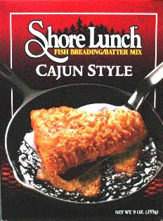 Shore Lunch Breading/Batter Mix - Cajun Spice #cajunshore