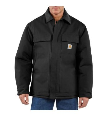 Carhartt Men's Duck Traditional Coat/Arctic Quilt-Lined #C003