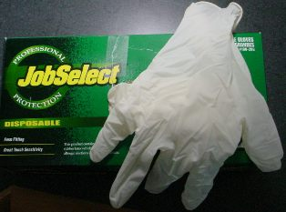 Disposable Skinning Gloves 315
