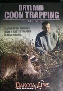 Dryland Coon Trapping Unplugged DVD #DLDVD