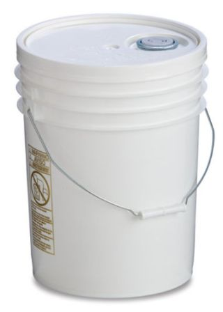 Food Grade Plastic Bucket with Lid 5 Gallon Capacity #foodg5b