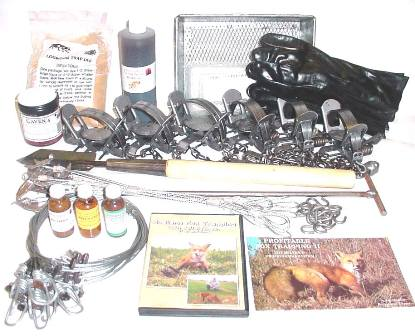 Fox Deluxe Trapping Kit fdtk14