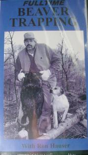 Fulltime Beaver Trapping DVD with Ron Hauser hauvideo