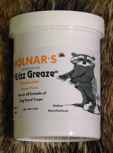 Molnar's Grizz Greaze Paste Bait grizzgreaze