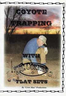 Coyote Trapping Flat Set DVD by J.C. Conner convideo02