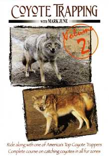 Coyote Trapping Volume 2 DVD by Mark June cottradvd2