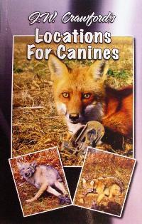 John W. Crawford Locations For Canine Trapping Book #jwcrawfordbk