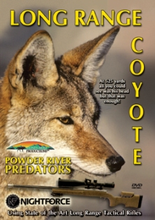 Long Range Coyote DVD #longrange dvd